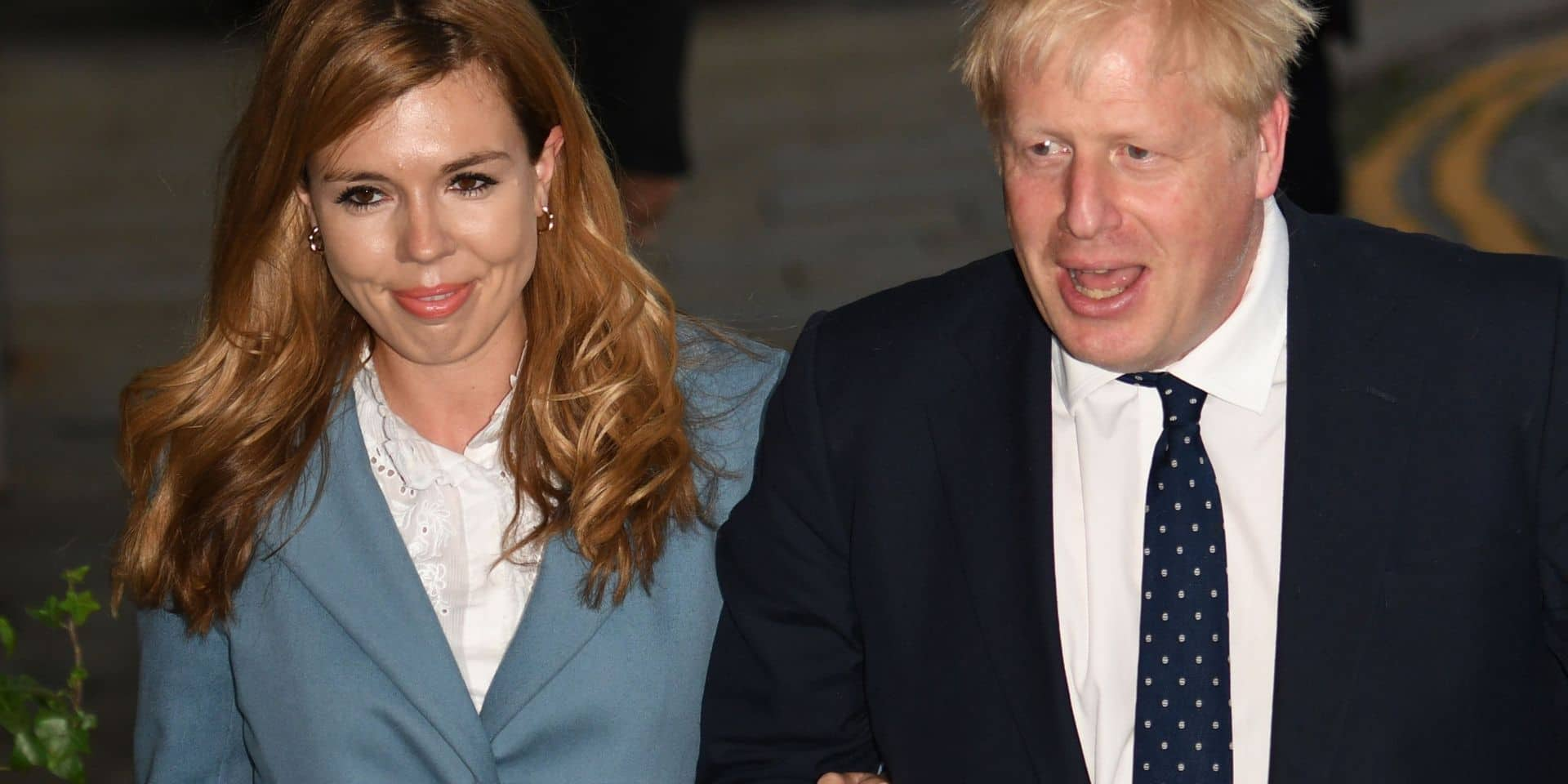 "Boris Johnson et sa fiancée ont eu un ""petit garçon"""