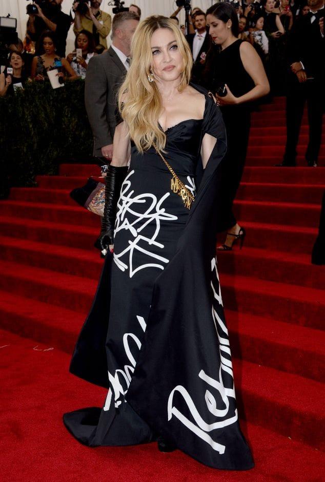 Au Gala du Met le 2 mai 2014.