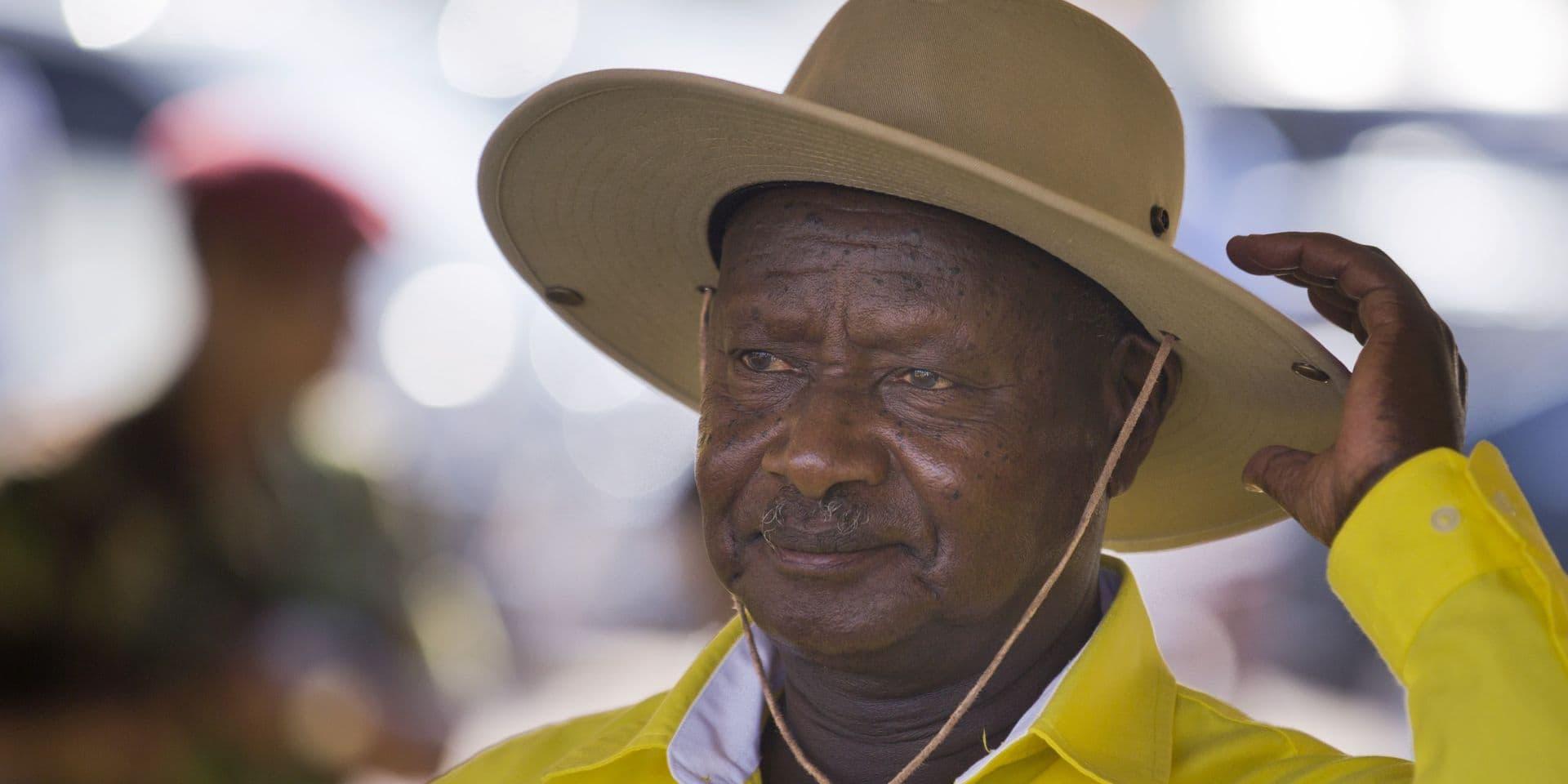 Présidentielle en Ouganda: Museveni réélu avec 58,6% des voix