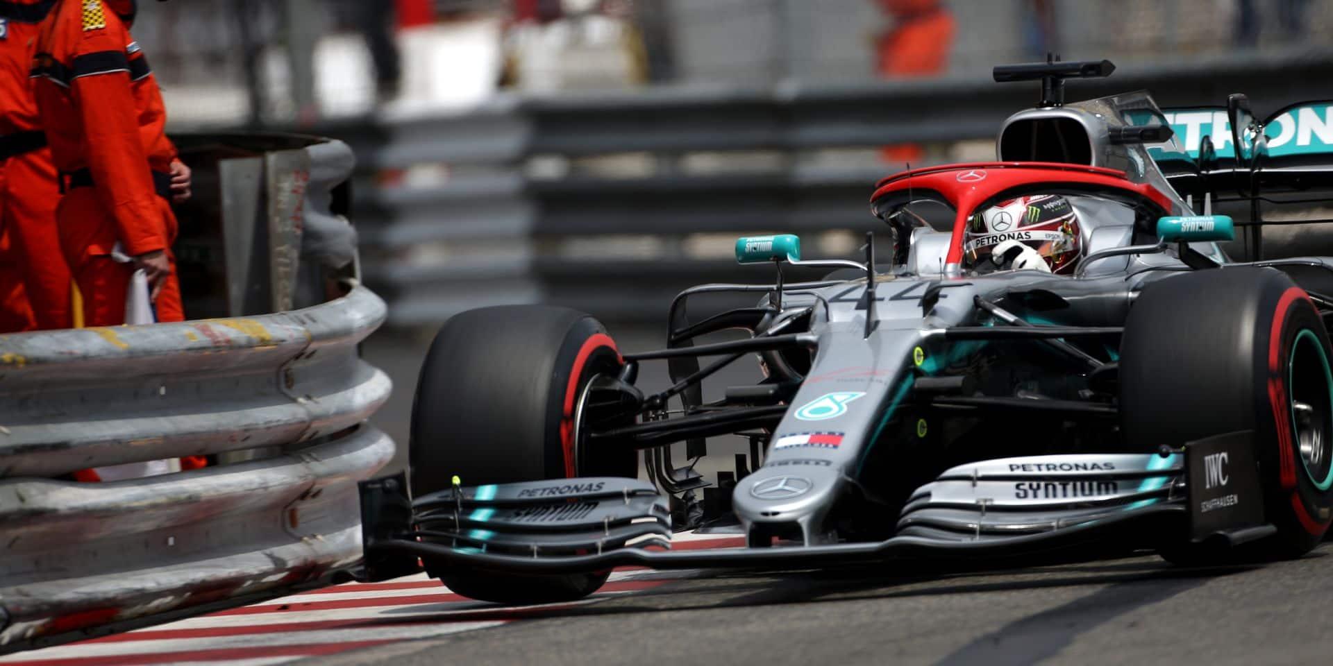 GP de Monaco: pole pour Lewis Hamilton, Charles Leclerc trahi par Ferrari
