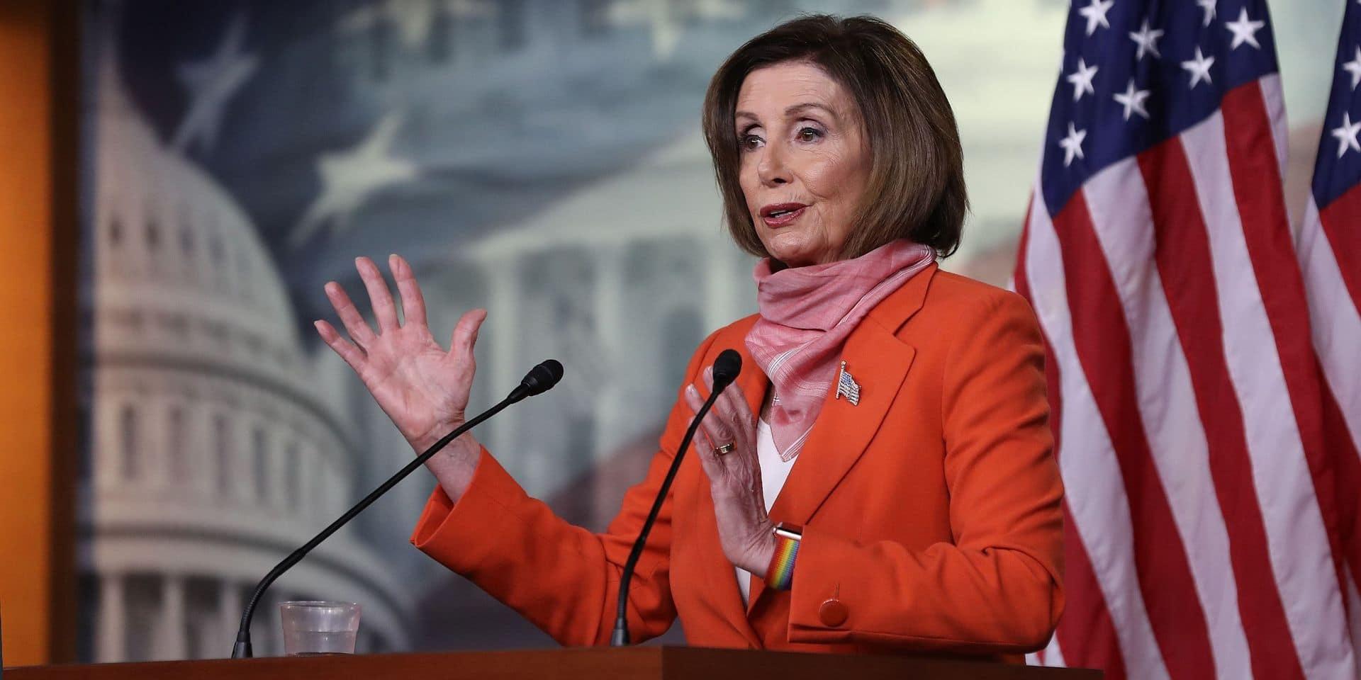 Présidentielle aux Etats-Unis: Nancy Pelosi annonce son soutien à Joe Biden