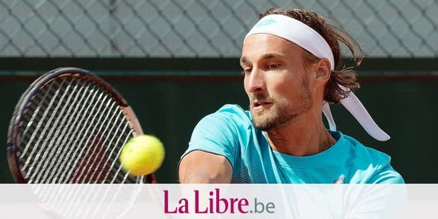 Belgian Ruben Bemelmans (ATP 110) pictured in action during his tennis game against Estonian Jurgen Zopp (ATP 136) in the second round of the men's singles at the Roland Garros French Open tennis tournament, in Paris, France, Thursday 31 May 2018. The main draw of this year's Roland Garros Grand Slam takes place from 27 May to 10 June. BELGA PHOTO BENOIT DOPPAGNE