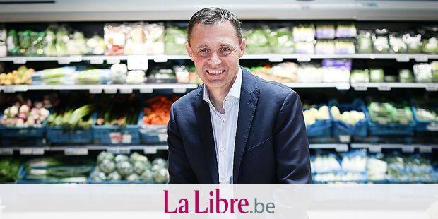 Bernard Demoulin: CEO Patron de Delhaize Belgique Xavier Piesvaux