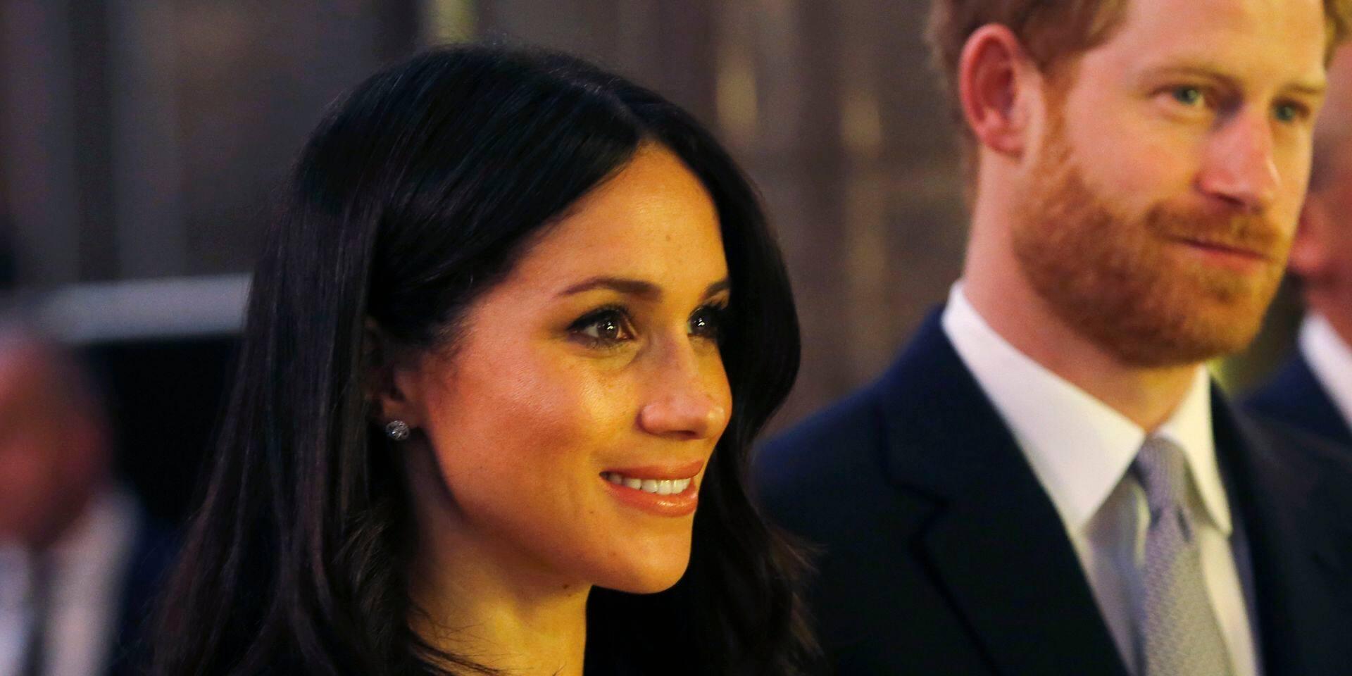 Harry et Meghan faits duc et duchesse de Sussex par la reine Elizabeth II