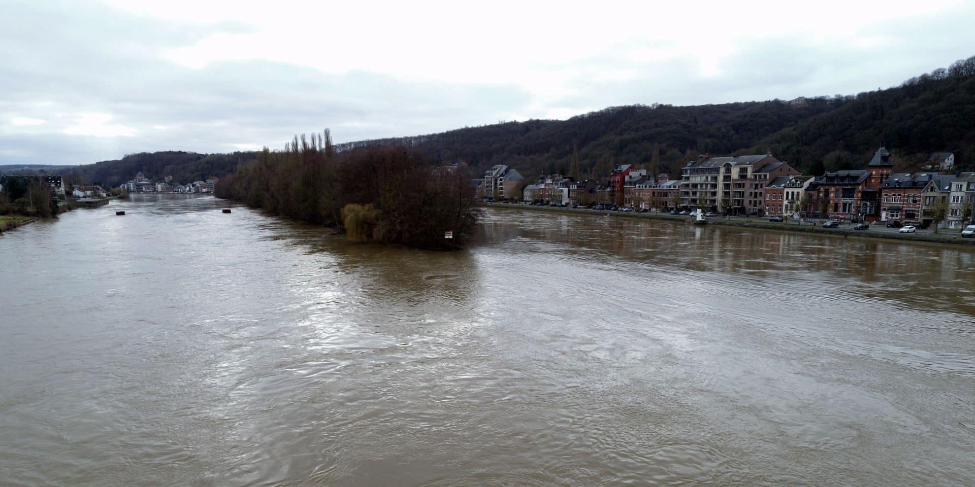 Tempête Ciara: la Haute Meuse, la Haute Semois et la Chiers en pré-alerte de crue