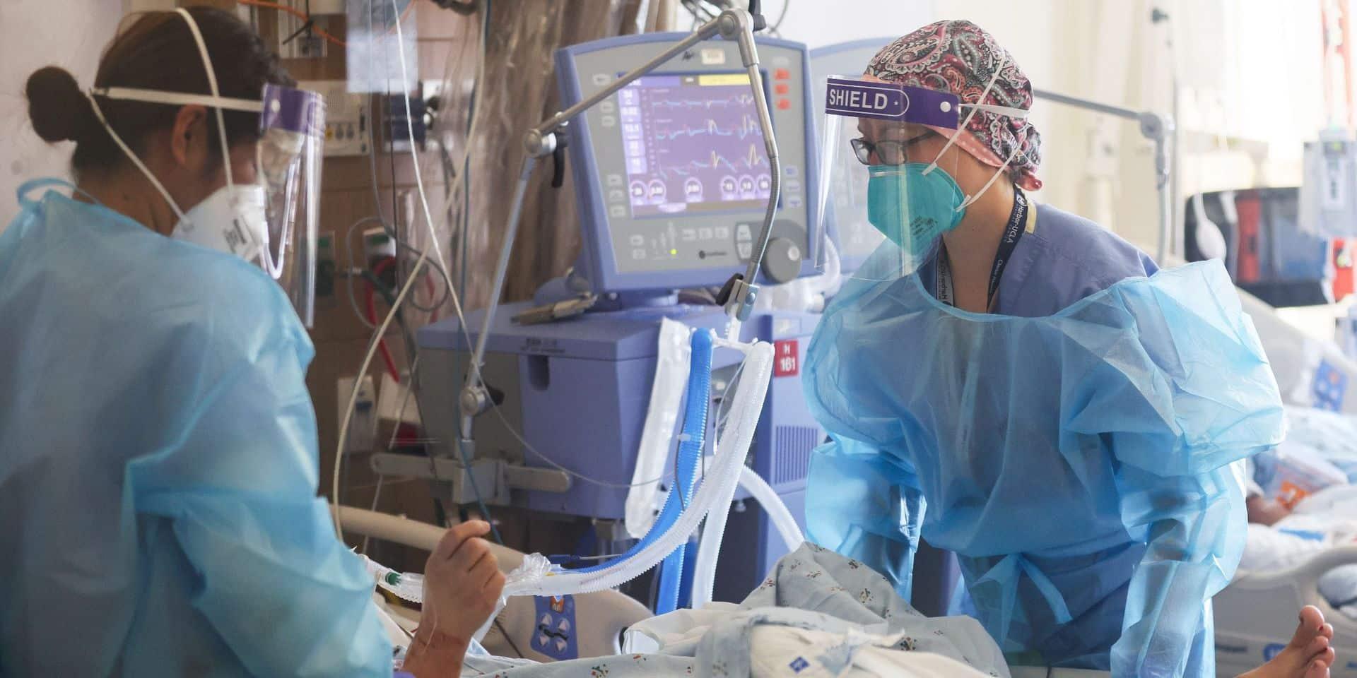 Voici le coût moyen d'un patient Covid hospitalisé