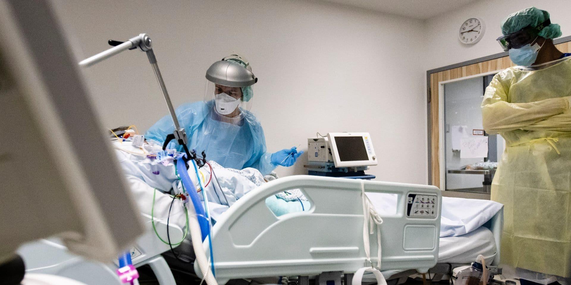 Coronavirus en Belgique: le total de cas approche les 590.000