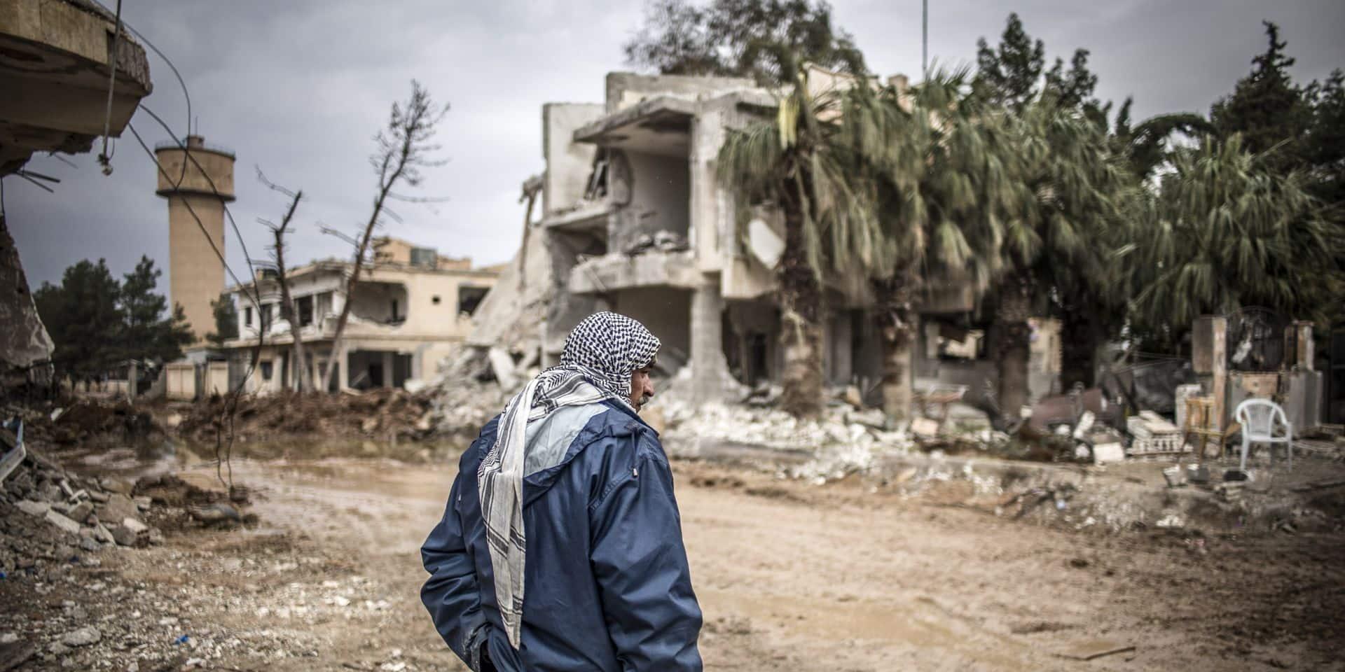 La première fois que c'était la guerre en Syrie, il y a dix ans