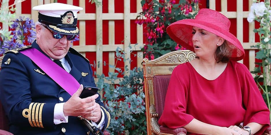 Le comportement inacceptable du prince Laurent lors du défilé du 21 juillet