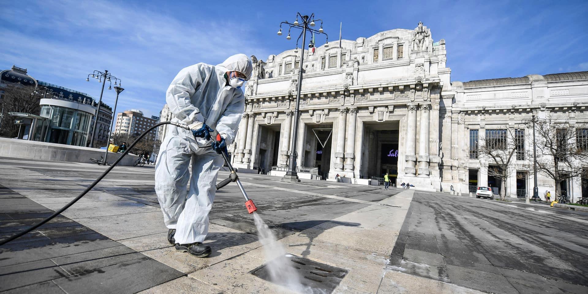 Coronavirus: faut-il désinfecter massivement les lieux publics ?