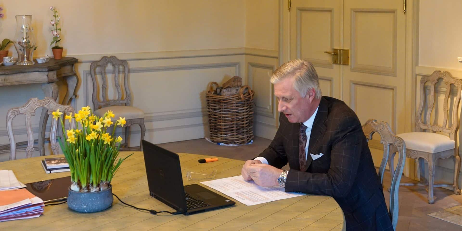La famille royale belge s'implique dans la lutte contre le coronavirus
