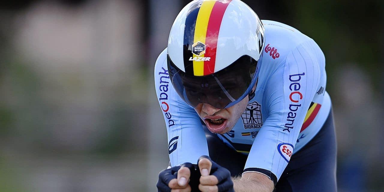 """Wout Van Aert est gonflé à bloc après sa médaille d'argent: """"Le plein de confiance pour dimanche !"""""""