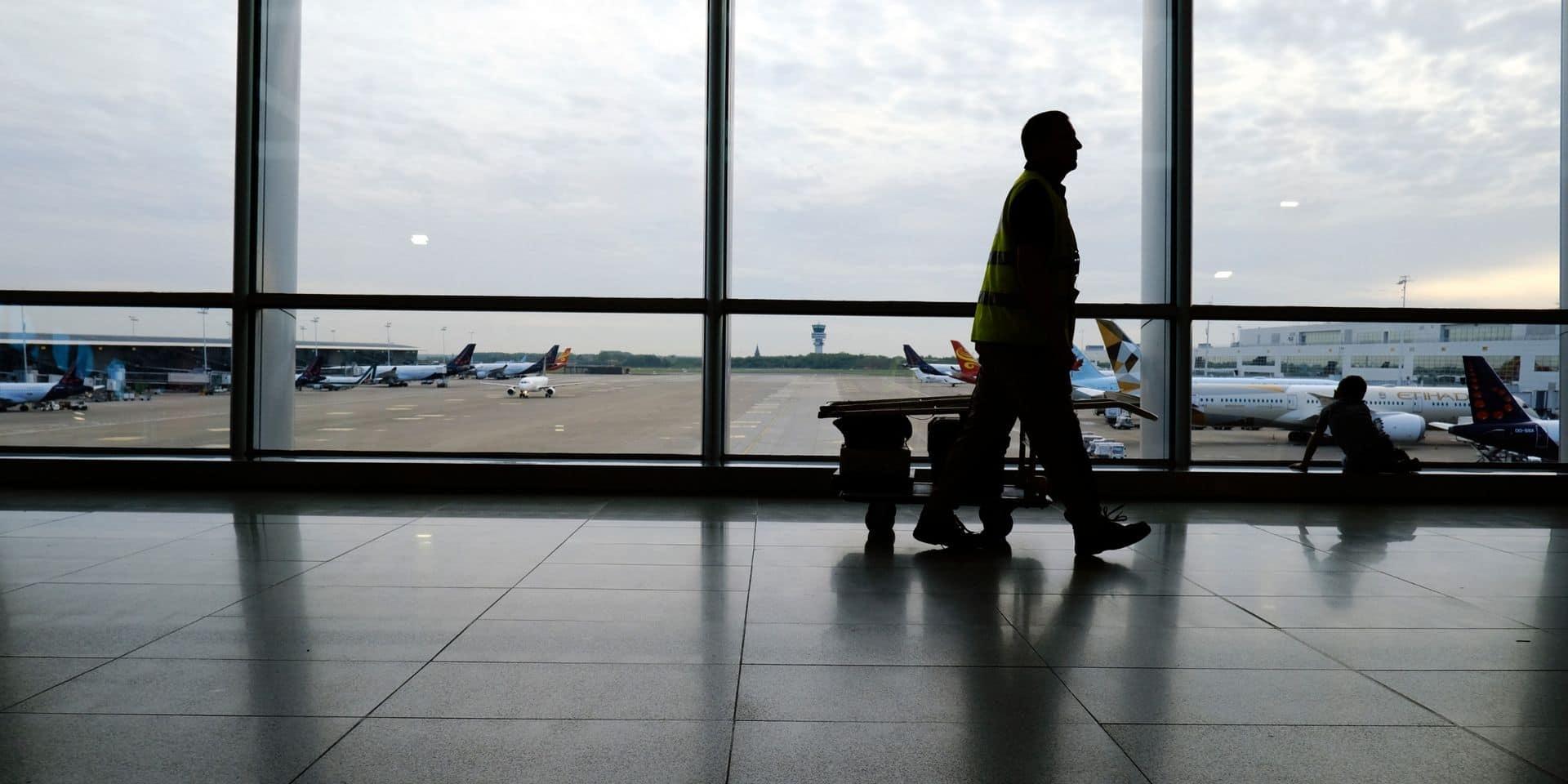 """Voyages en avion: """"Bruxelles va particulièrement souffrir"""""""