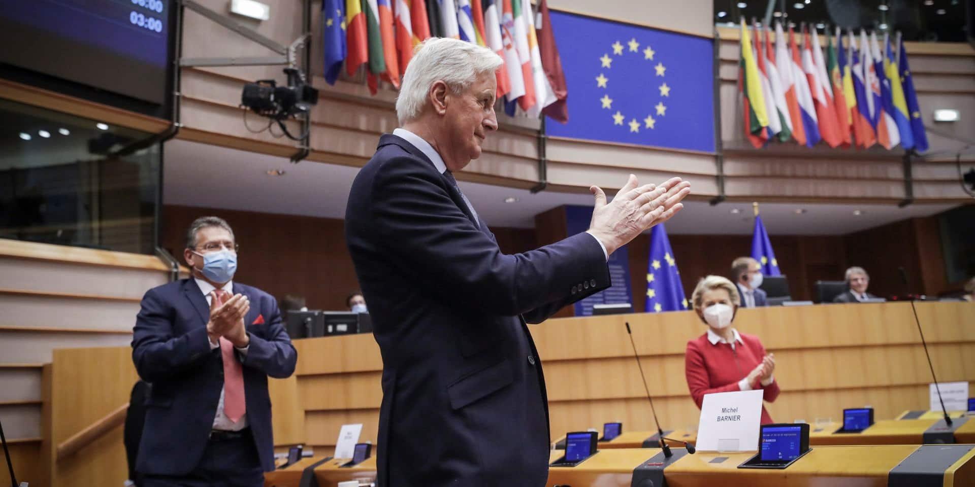 Malgré sa méfiance, le Parlement européen valide l'accord post-Brexit