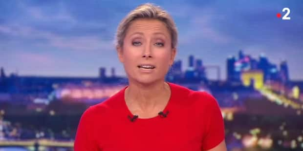 """Anne-Sophie Lapix tacle le Mondial: """"regarder des millionnaires courir après un ballon"""" - La Libre"""