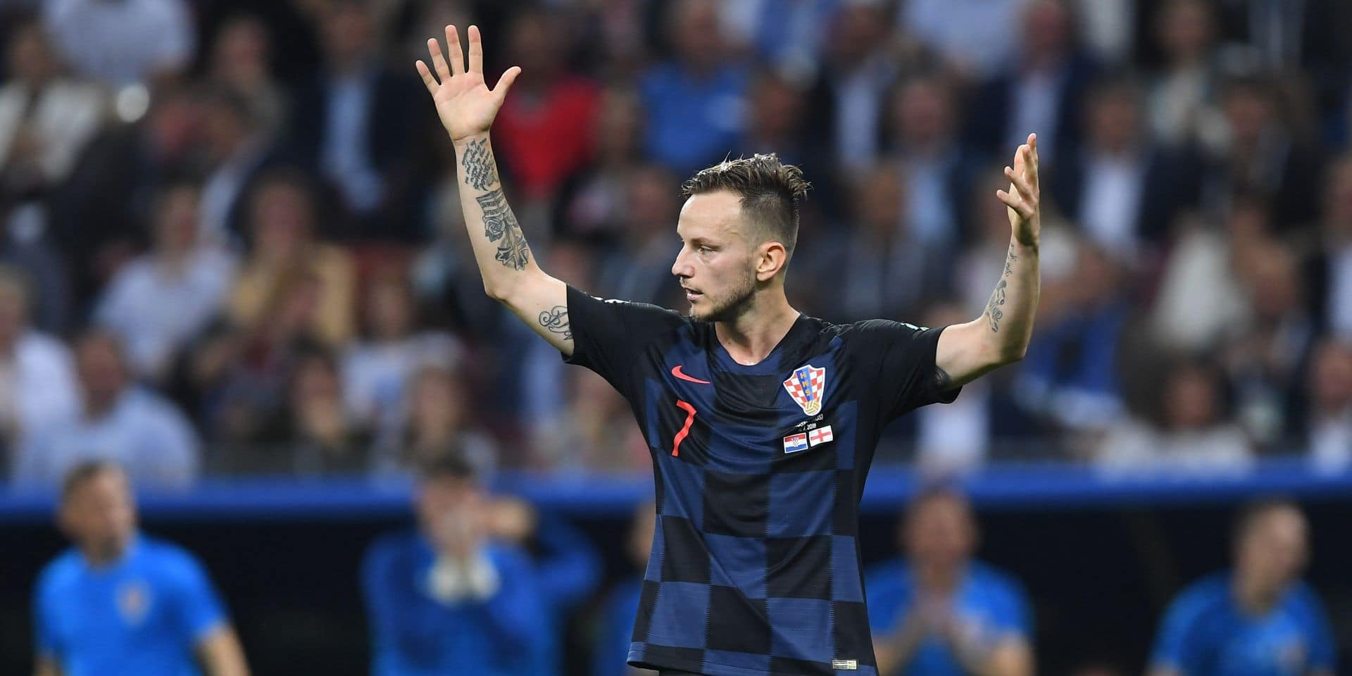 Le Croate Ivan Rakitic arrête sa carrière internationale