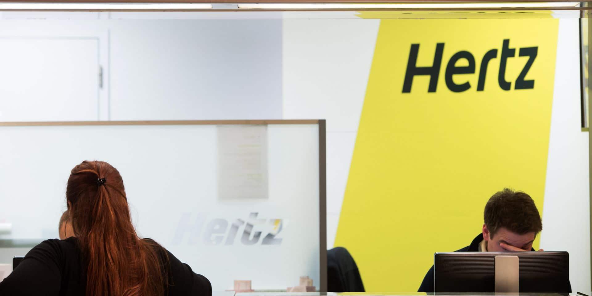 Le loueur de voitures Hertz se déclare en faillite aux Etats-Unis et au Canada
