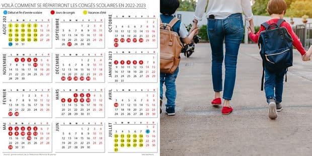 Calendrier Top 14 2022 2023 Réforme des rythmes scolaires : voici le calendrier de l'année