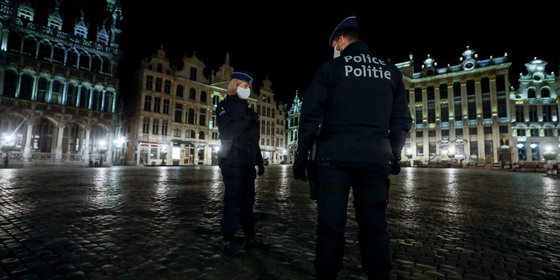 Le couvre-feu bruxellois maintenu à 22h jusqu'au début des vacances de Pâques