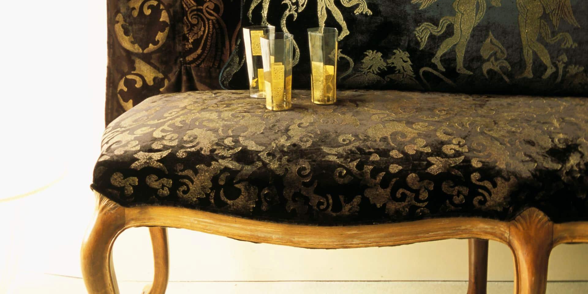Chambre Baroque Noir Et Violet tendance déco : un intérieur baroque chic - la libre