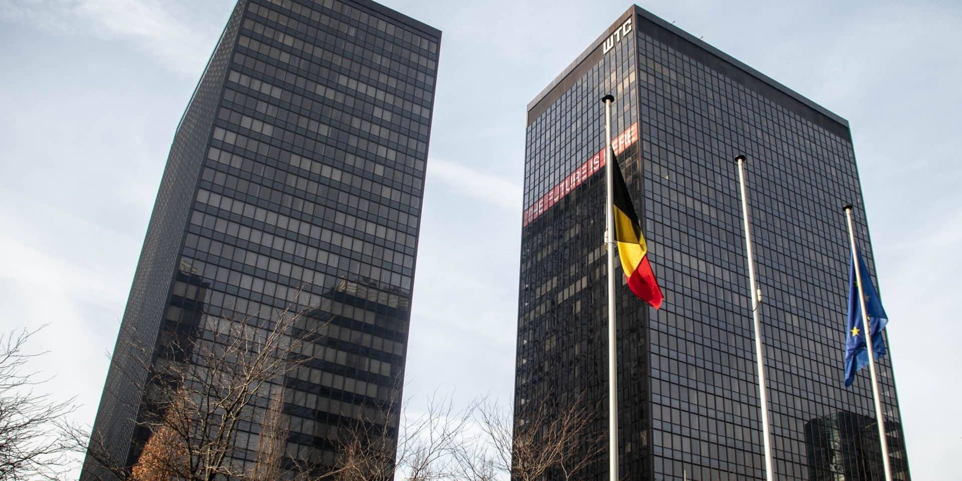 Coronavirus: l'auditorat du travail de Bruxelles autorise la réouverture du chantier du WTC