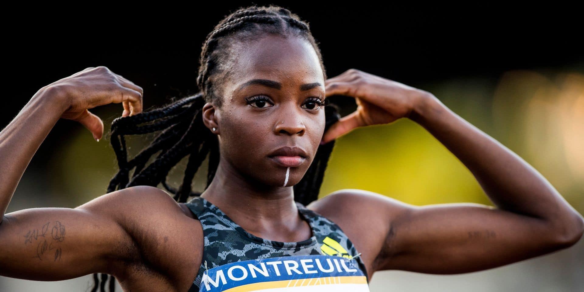 Cynthia Bolingo s'est qualifiée pour les JO de Tokyo sur 400 mètres.