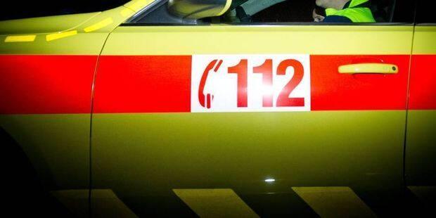 Limbourg : Une voiture s'encastre sous un camion !