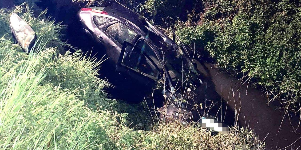 Fleurus: une voiture s'écrase en contrebas de la route, trois personnes blessées