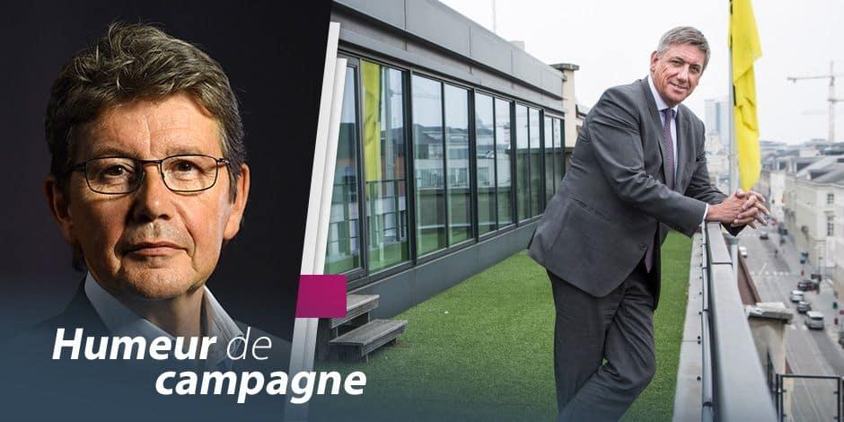 """""""Humeur de campagne"""" : La tête bien vide d'arguments de Jan Jambon"""