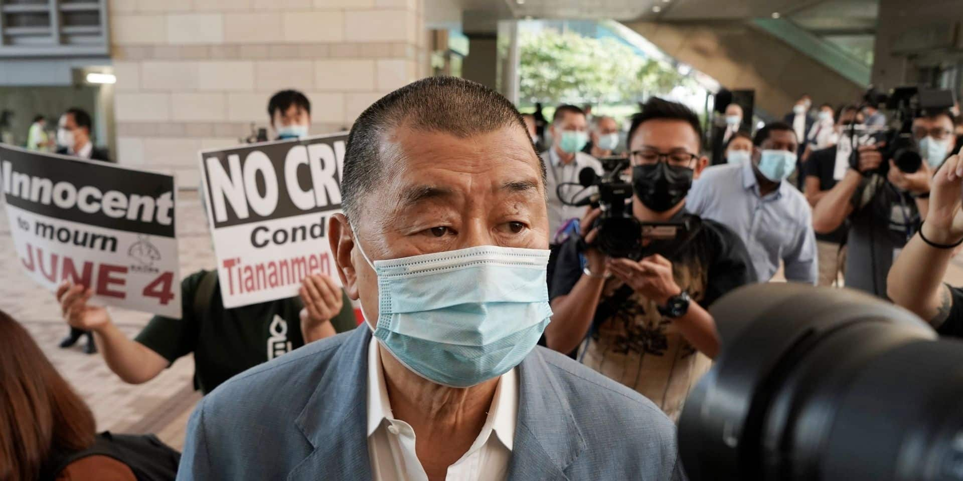 Hong Kong: le magnat pro-démocratie Jimmy Lai libéré sous caution