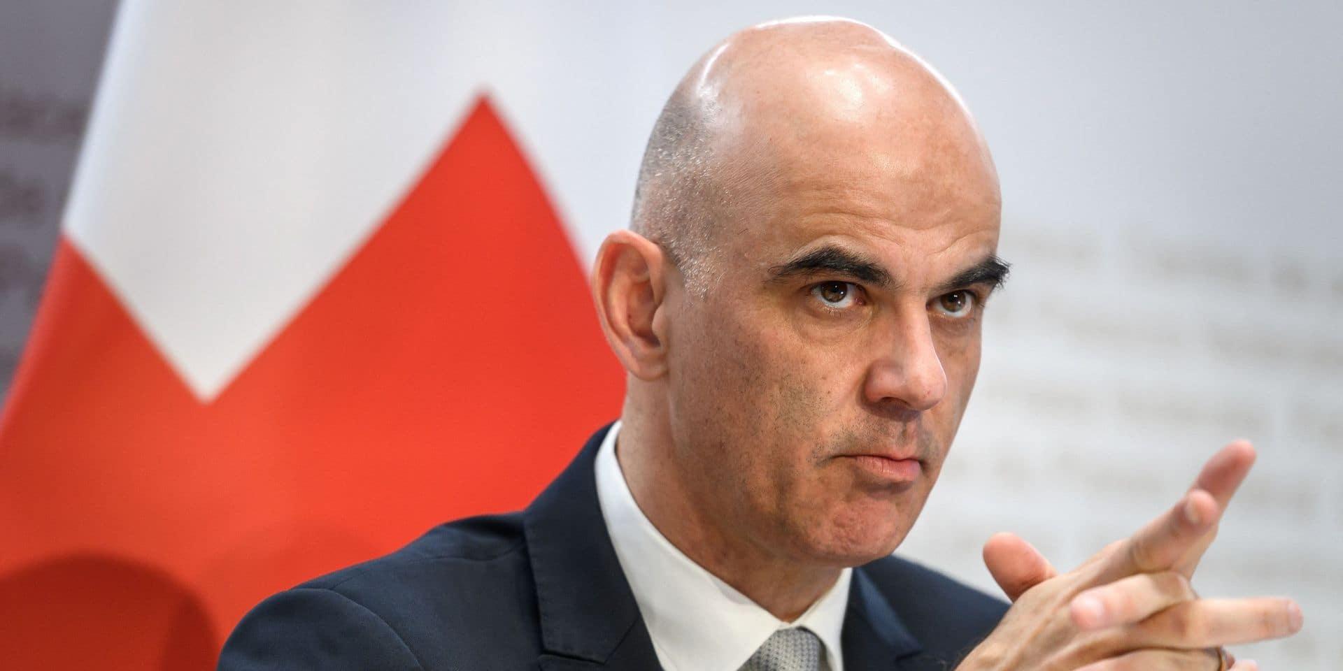 Alain Berset, ministre suisse de l'Intérieur.