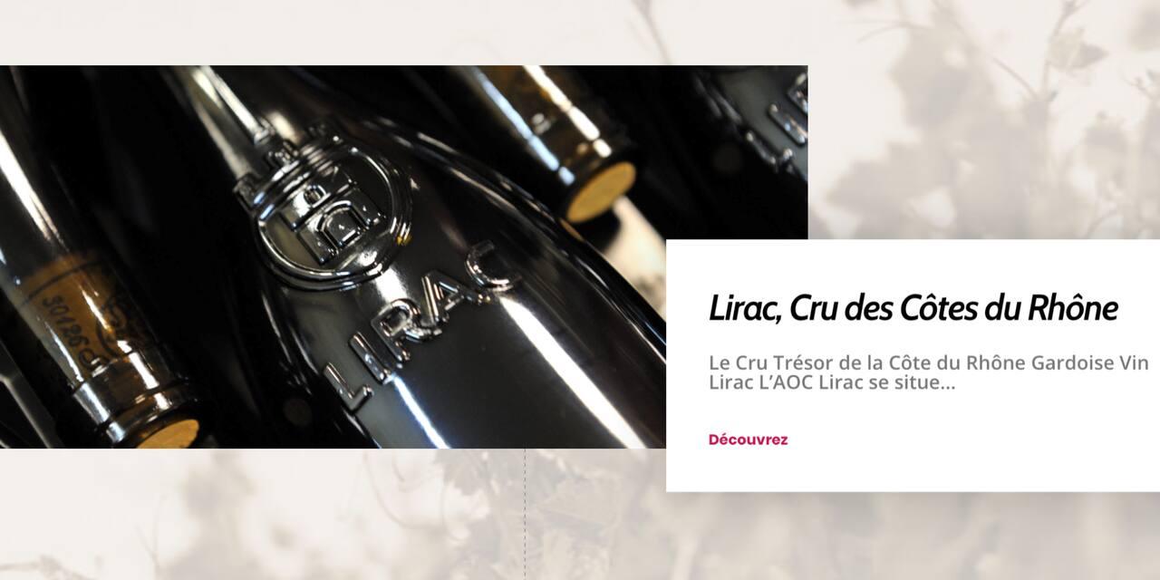 Concours : Remportez des packs de 2 bouteilles pour découvrir les vins AOC Lirac, 771 hectares de passion et de talent sur la rive droite du Rhône