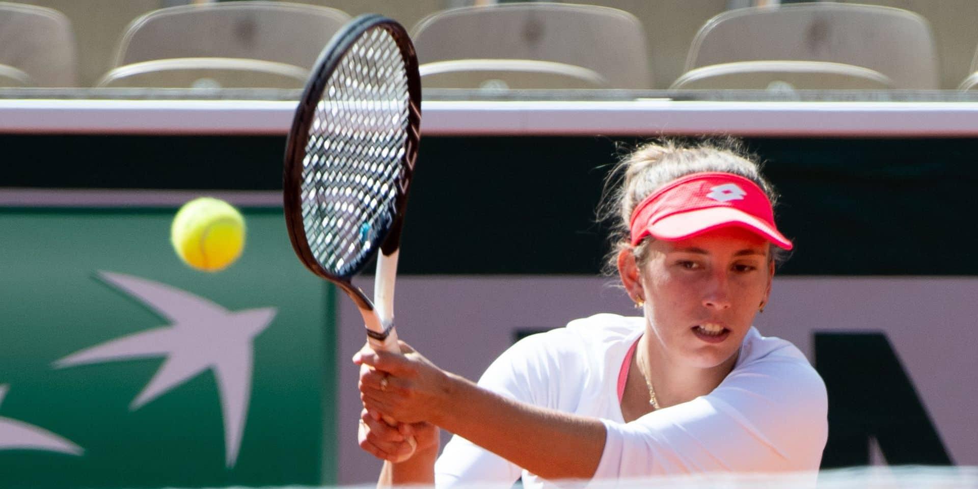 """Elise Mertens confiante mais prudente avant Roland-Garros: """"J'ai eu le temps de récupérer"""""""