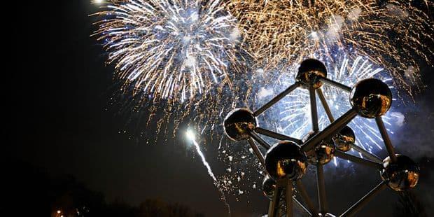 Bombe de table 2 pièces fête nouvel an bonne chance de nouvel an porte-bonheur