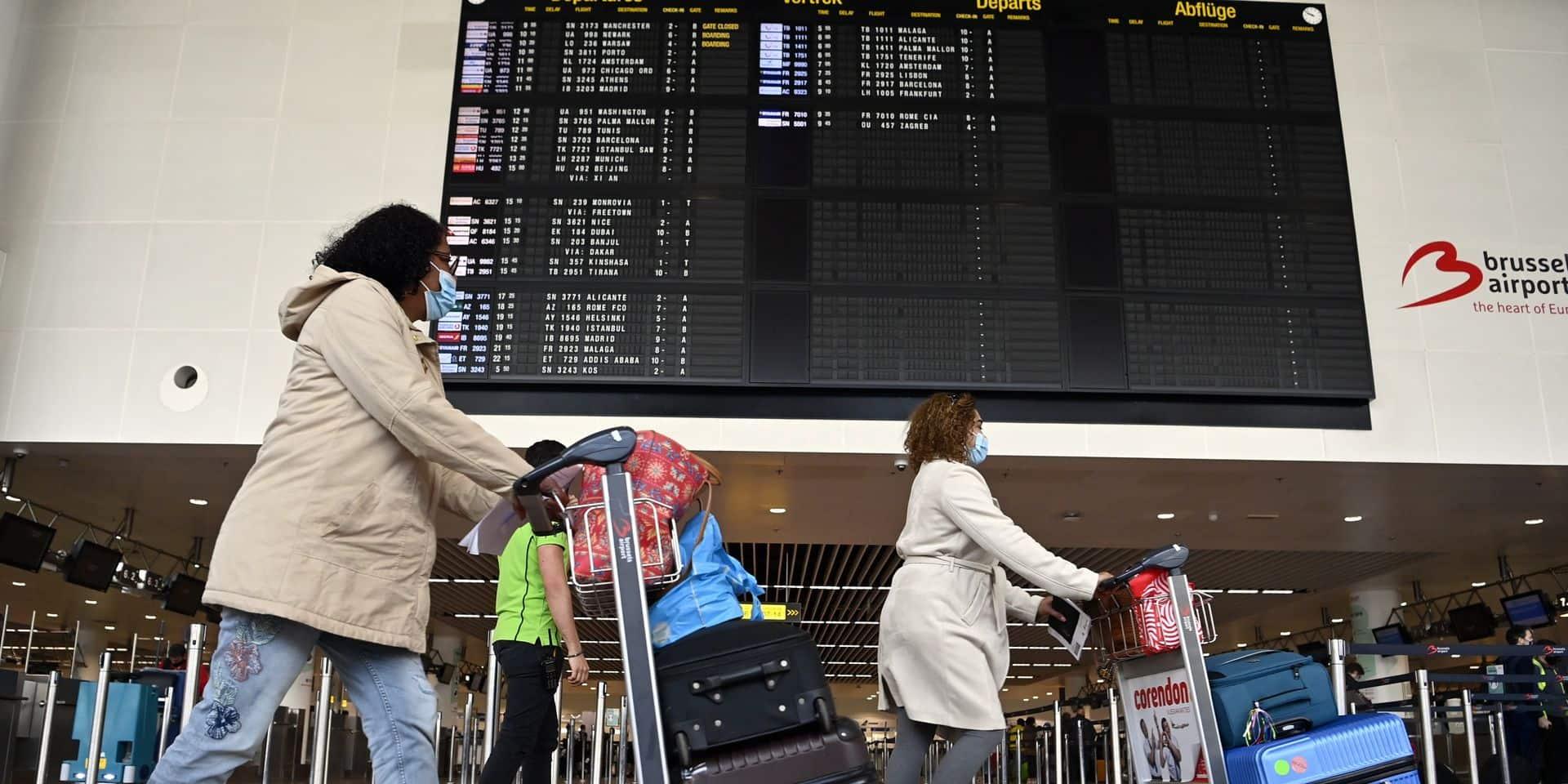 Quarantaine, test PCR, vaccination: le point sur les règles en vigueur pour les départs à l'étranger et les retours en Belgique