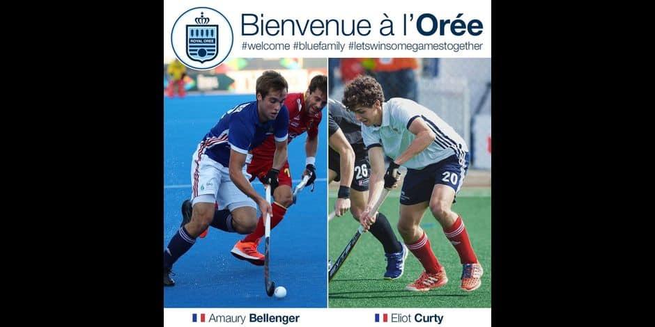 L'Orée fait signer deux internationaux français