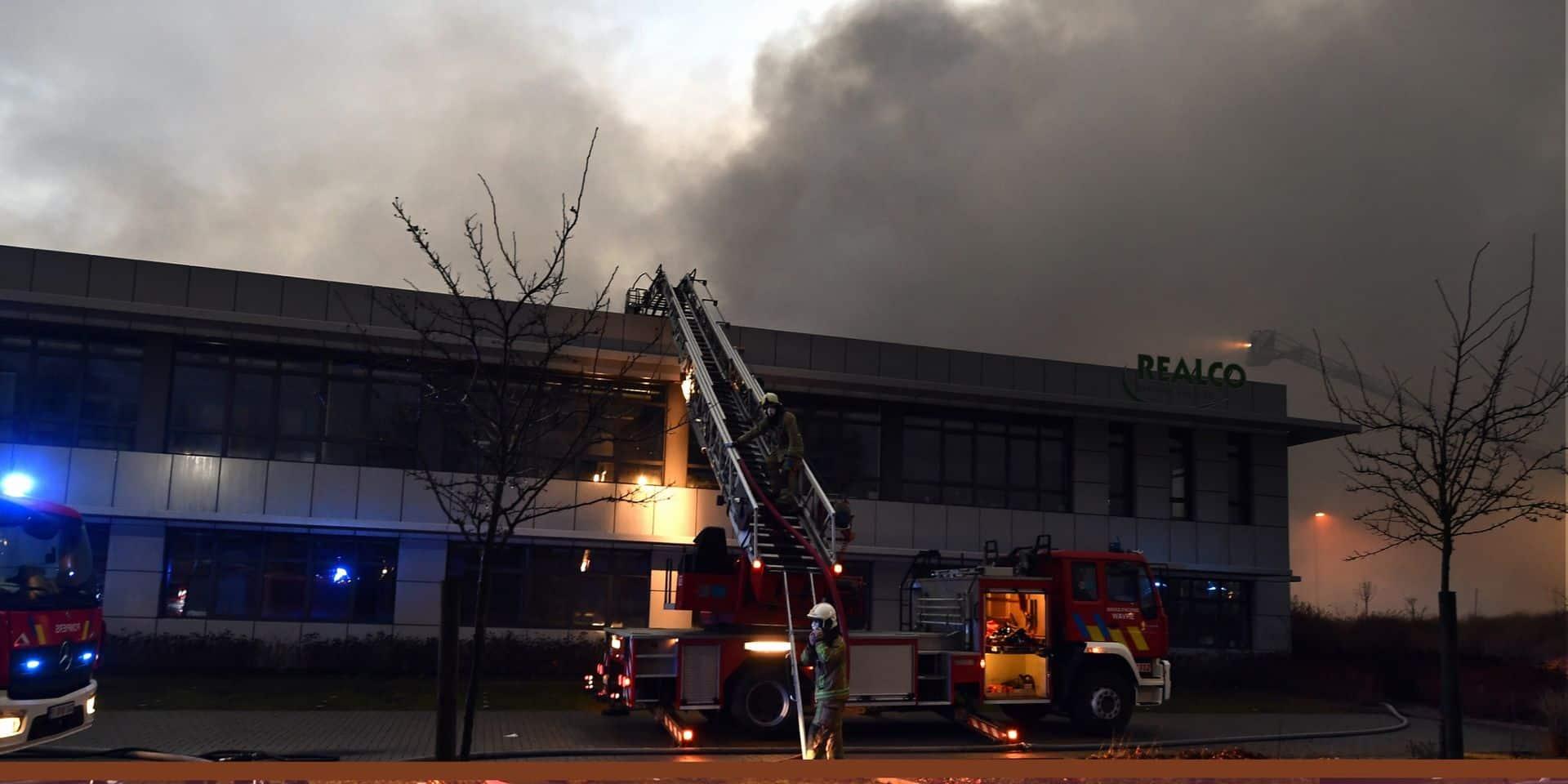 La SRIW au secours de Realco après l'incendie que l'entreprise louvaniste a subi