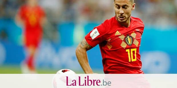 Belgium's forward Eden Hazard eyes the ball during the Russia 2018 World Cup round of 16 football match between Belgium and Japan at the Rostov Arena in Rostov-On-Don on July 2, 2018. / AFP PHOTO / Odd ANDERSEN / RESTRICTED TO EDITORIAL USE - NO MOBILE PUSH ALERTS/DOWNLOADS