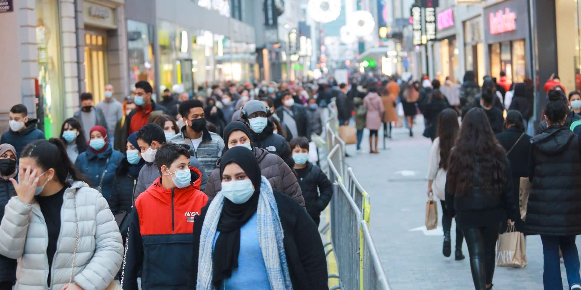 Coronavirus: un code couleur existe désormais également pour la rue Neuve