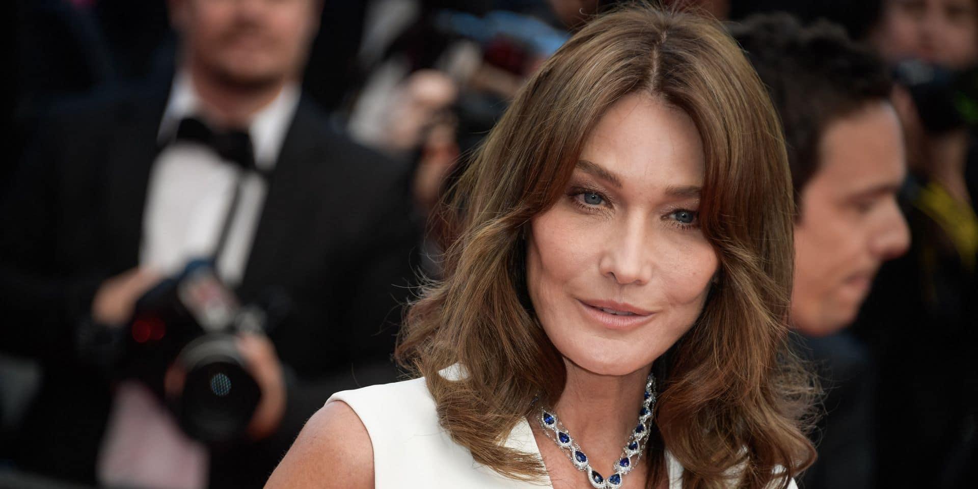 Carla Bruni-Sarkozy: de retour à Paris, elle dévoile des clichés complices avec sa fille Giulia