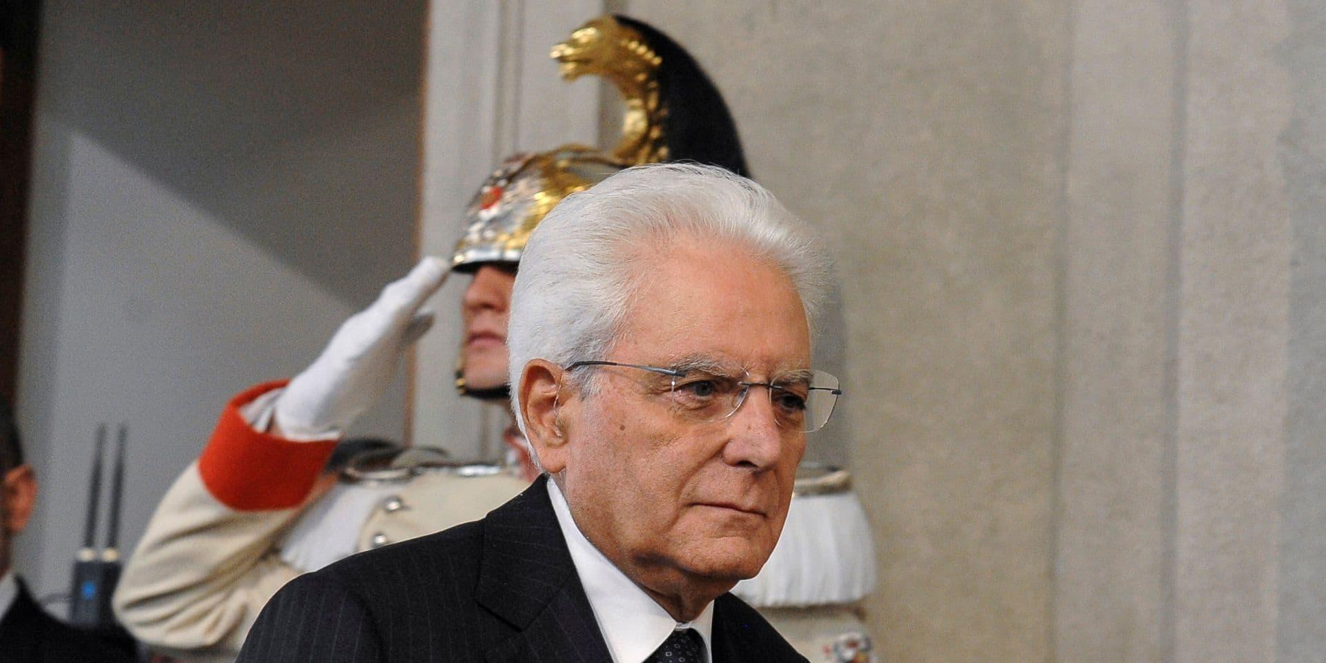 Dette et déficit: le président italien veut un changement des règles européennes