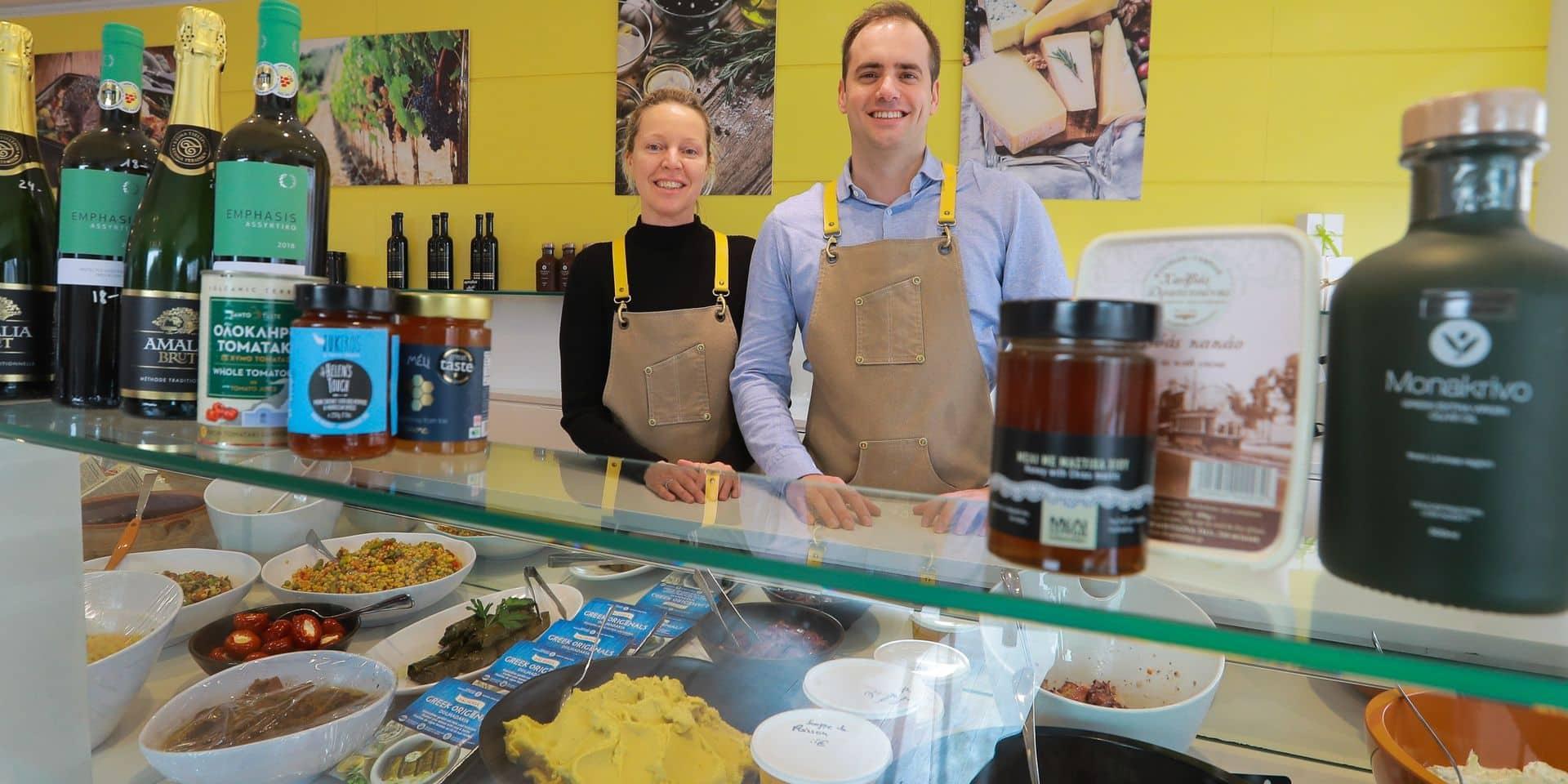 Plats cuisinés, mezzedès, épicerie fine : le restaurant grec Strofilia a ouvert son traiteur