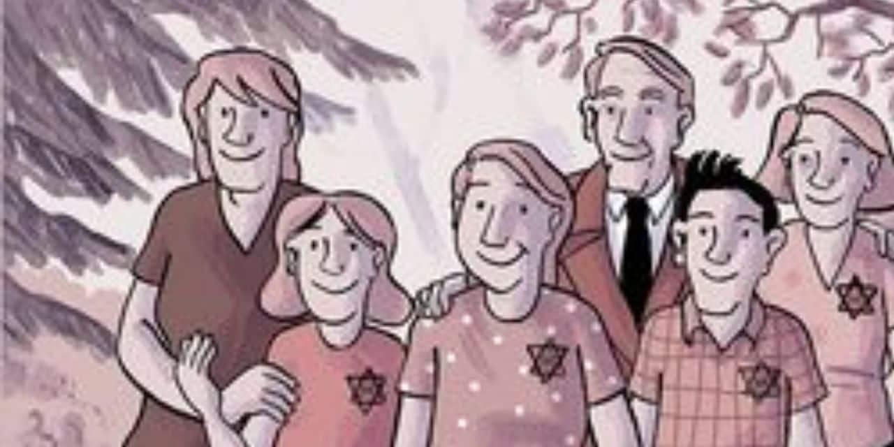 """""""Si je reviens un jour"""", les lettres oubliées d'une adolescente juive revivent en BD"""