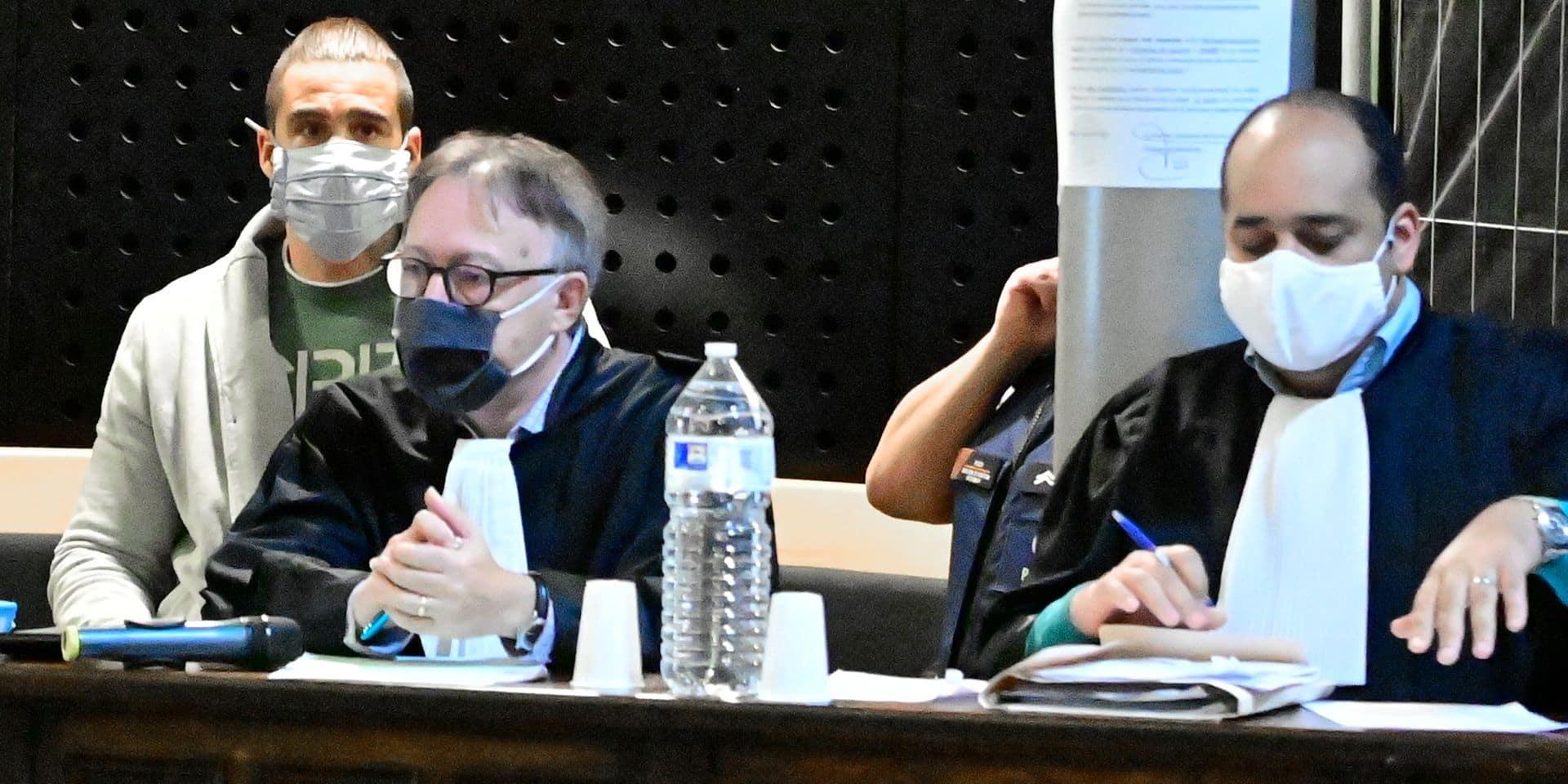 Meurtre de Muriel Bauduin: Une peine de 25 ans de réclusion requise contre Alexandro Carucci