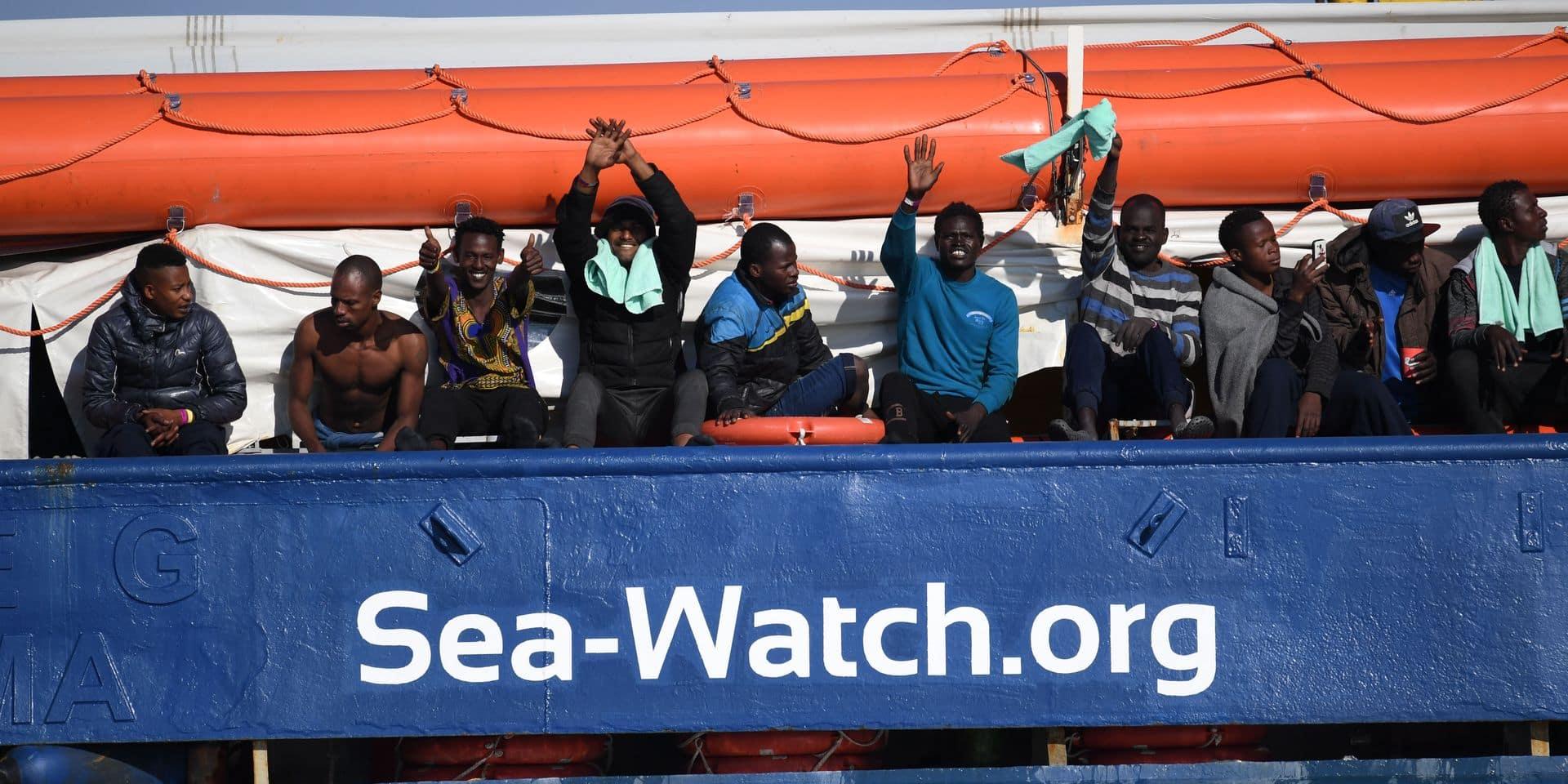 Accord entre sept pays européens : les migrants du Sea-Watch vont débarquer