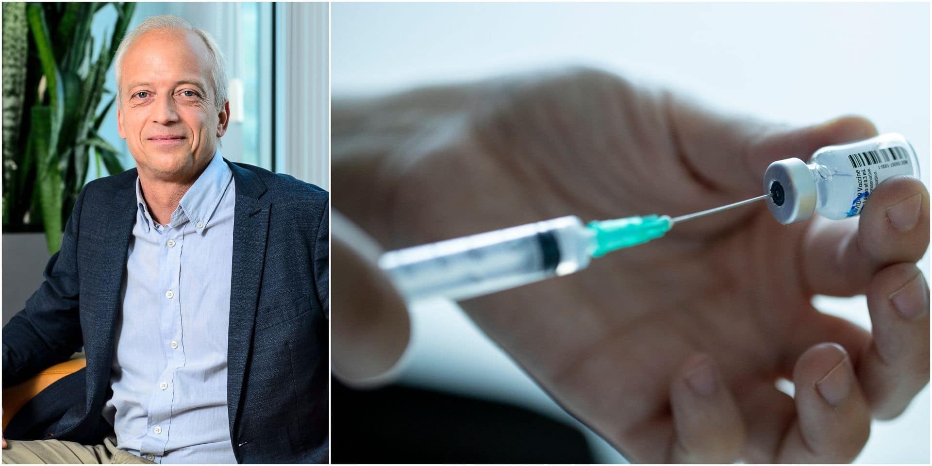 Pas de stockage de doses, une stratégie plus discriminante : Yves Coppieters nous détaille sa stratégie de vaccination rapide