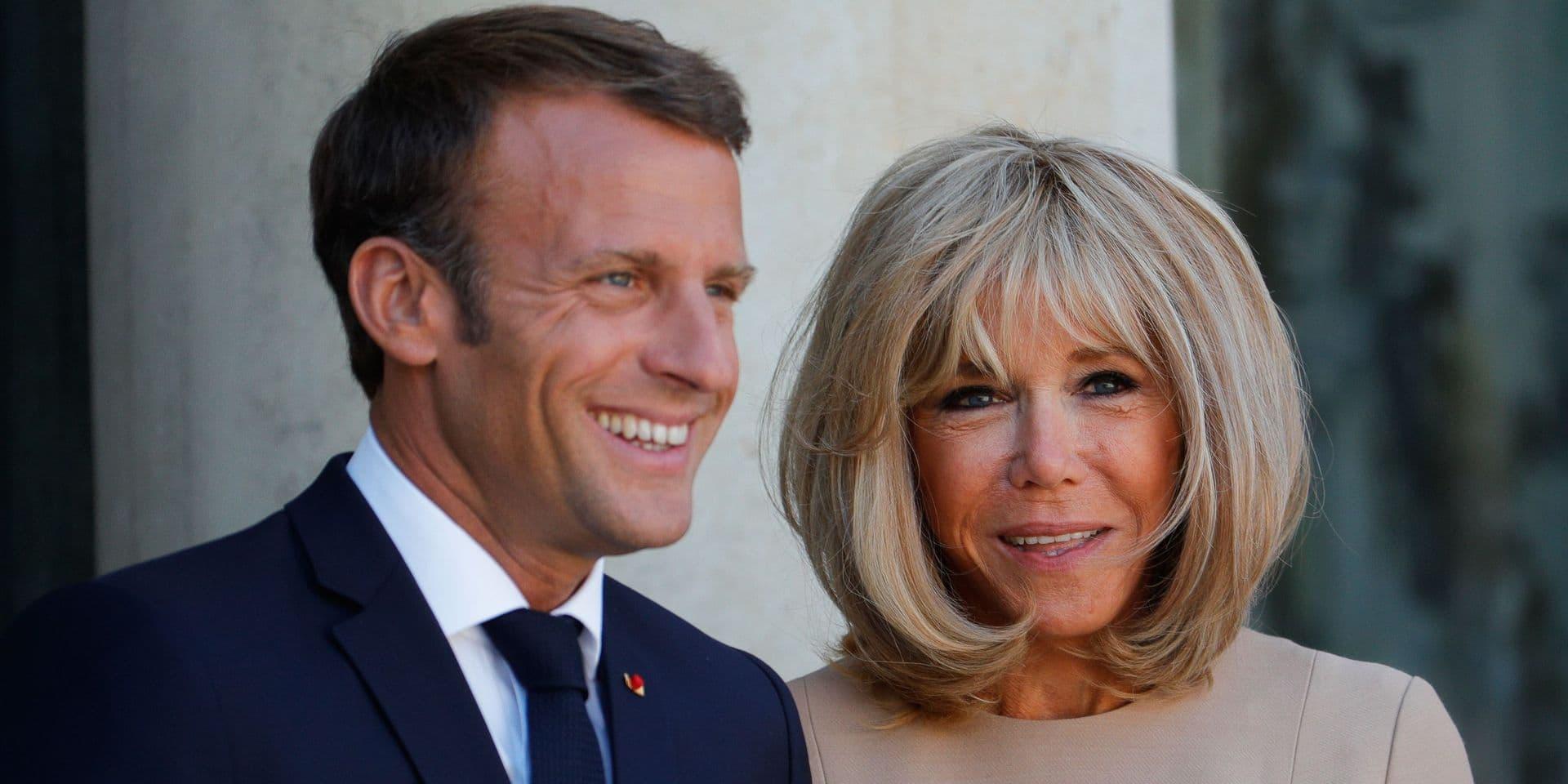 Cette photo du président français qui a énormément dérangé Brigitte Macron