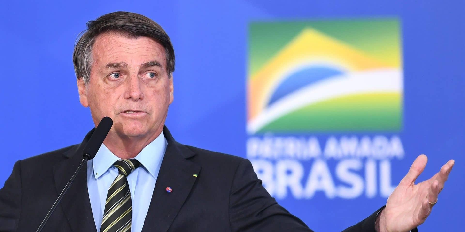 """Pour Jair Bolsonaro, la chloroquine aurait sauvé """"beaucoup de vies"""""""