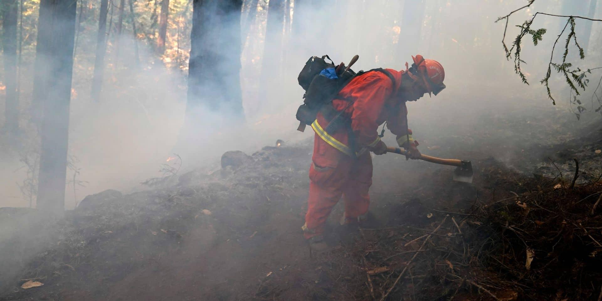 Les milliers de pompiers américains, canadiens et australiens progressent face aux incendies en Californie