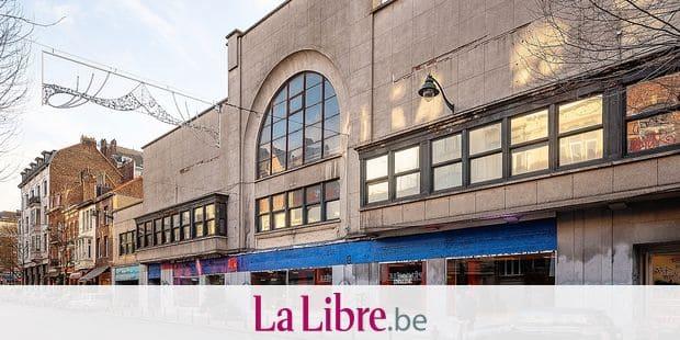 Bruxelles - Ixelles: Site de l ancien Delhaize Moliere de la chaussee de Waterloo